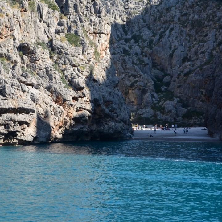 travel with kids children soller mallorca spain hiking torrent de pareis sa calibre beach