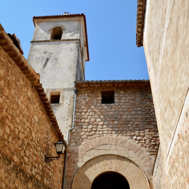 travel with kids children soller mallorca spain hiking fornalutx biniaraix church