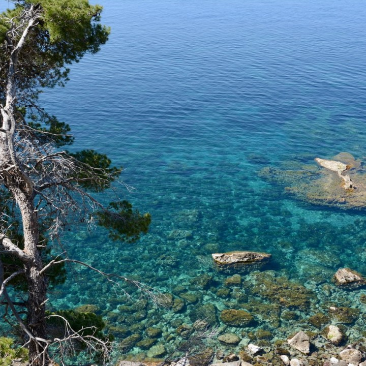 travel with kids children soller mallorca spain coastal hike ben's d'avall to cala deia sea