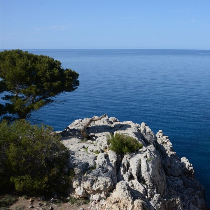 travel with kids children soller mallorca spain coastal hike ben's d'avall to cala deia landscape