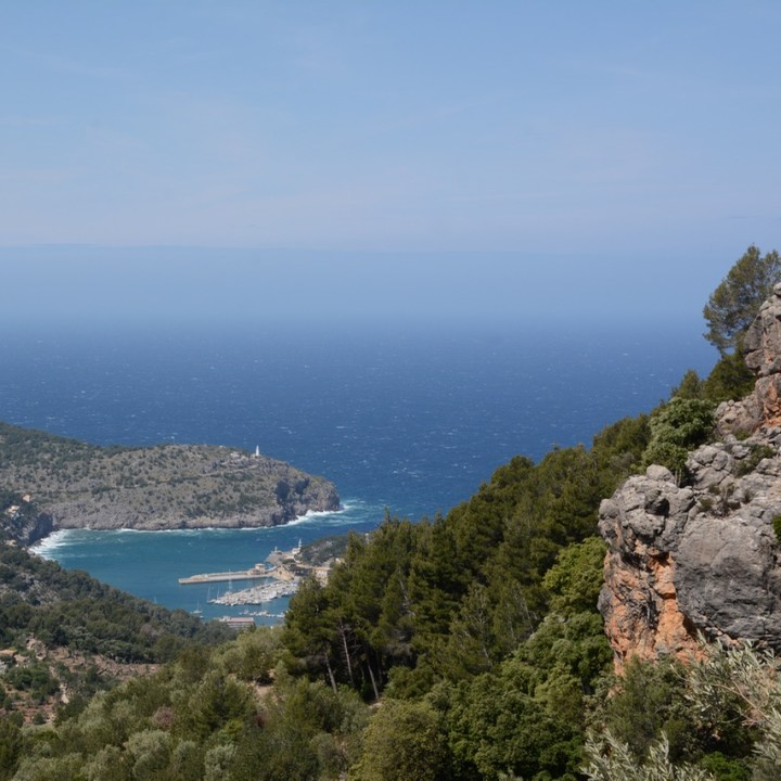 Soller, Mallorca, Spain | A Hike from Soller to the View at Mirador de Ses Barques