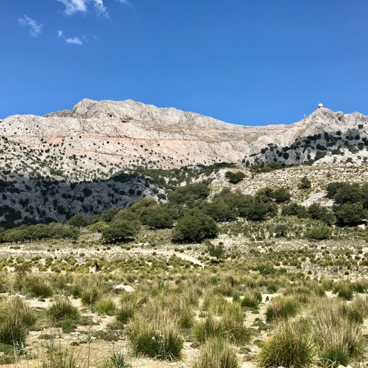 travel with kids children soller mallorca spain three mountain tops hike lofre puig major