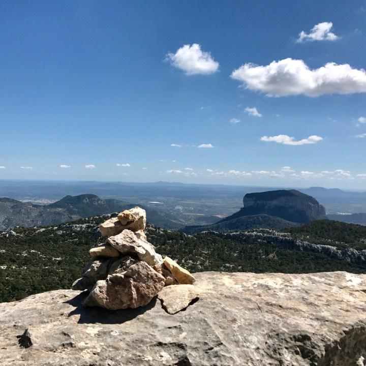 travel with kids children soller mallorca spain three mountain tops hike lofre sa rateta
