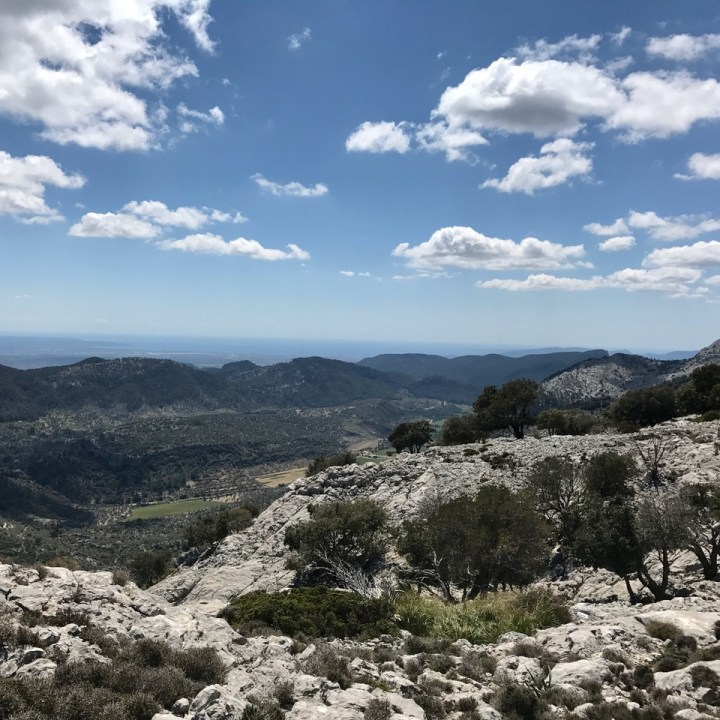 travel with kids children soller mallorca spain three mountain tops hike lofre orient valley