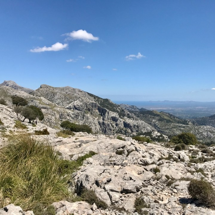 travel with kids children soller mallorca spain three mountain tops hike lofre Alcudia bay