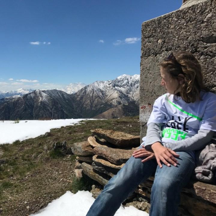 travel with kids children mount spalavera lago maggiore hiking summit