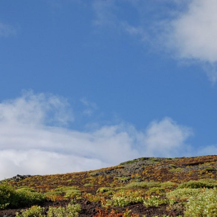 travel with kids hiking mount fuji japan volcanic rocks