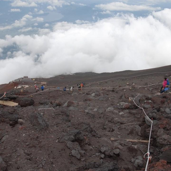 travel with kids hiking mount fuji japan yosida trail
