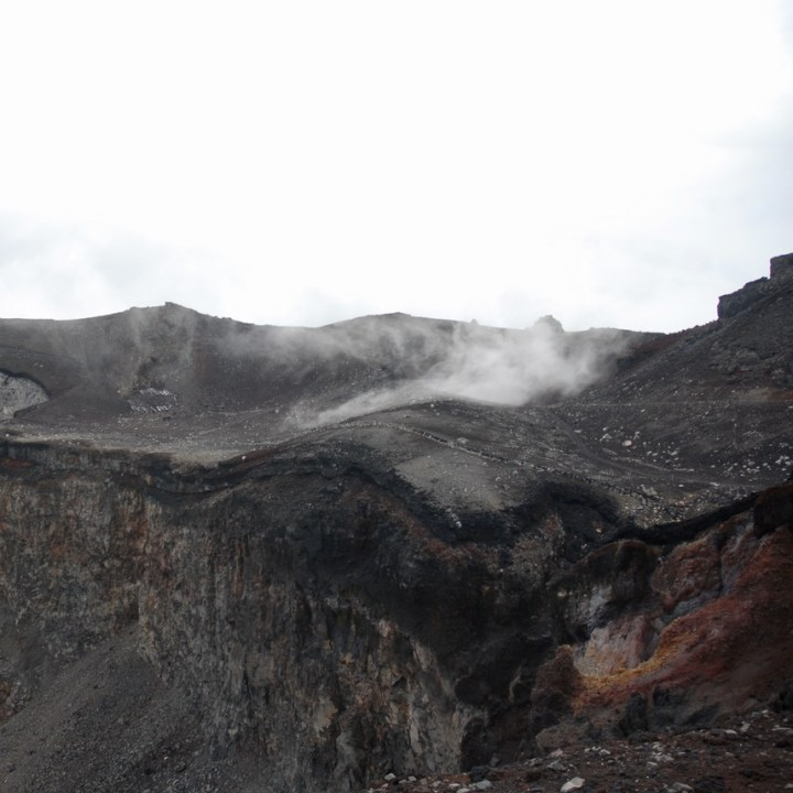 travel with kids hiking mount fuji japan volcanic ash