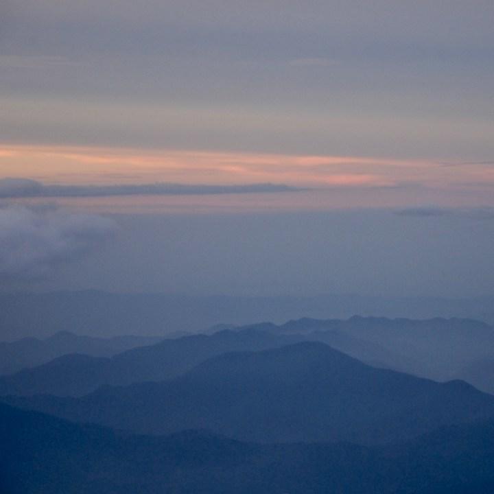 travel with kids hiking mount fuji japan sunset