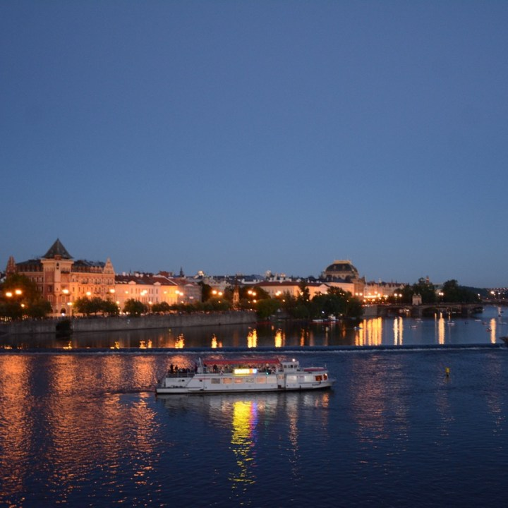 prague with kids guide boat ride