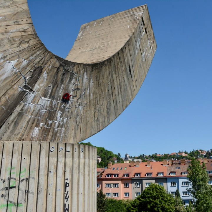 travel with kids prague modern art