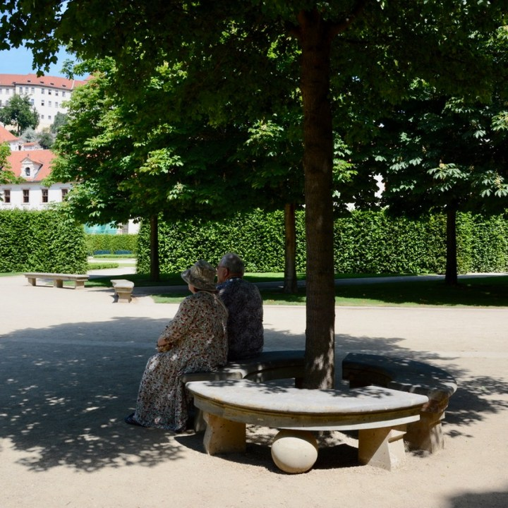 travel with kids prague wallenstein palace resting place