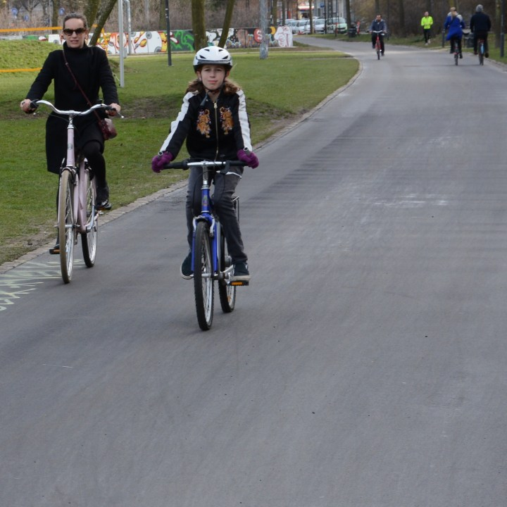 Bike tour London with kids