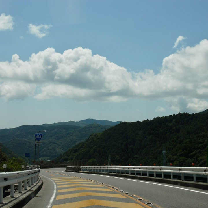 shimoda japan with kids kawazu loop bridge road