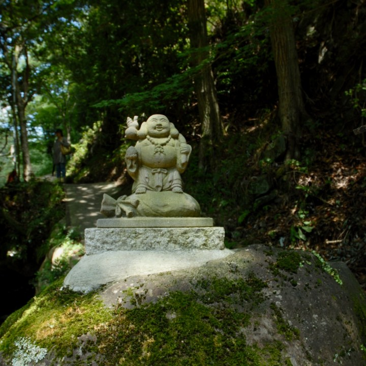shimoda japan with kids kawazu seven waterfall buddha