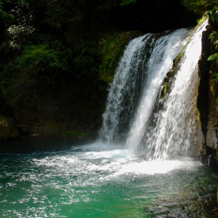 shimoda japan with kids kawazu seven waterfall