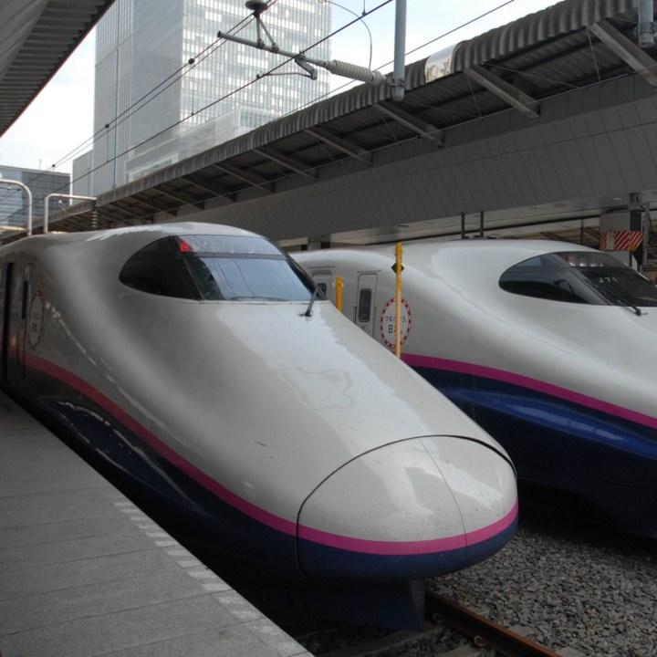 tokyo train museum with kids shinkansen