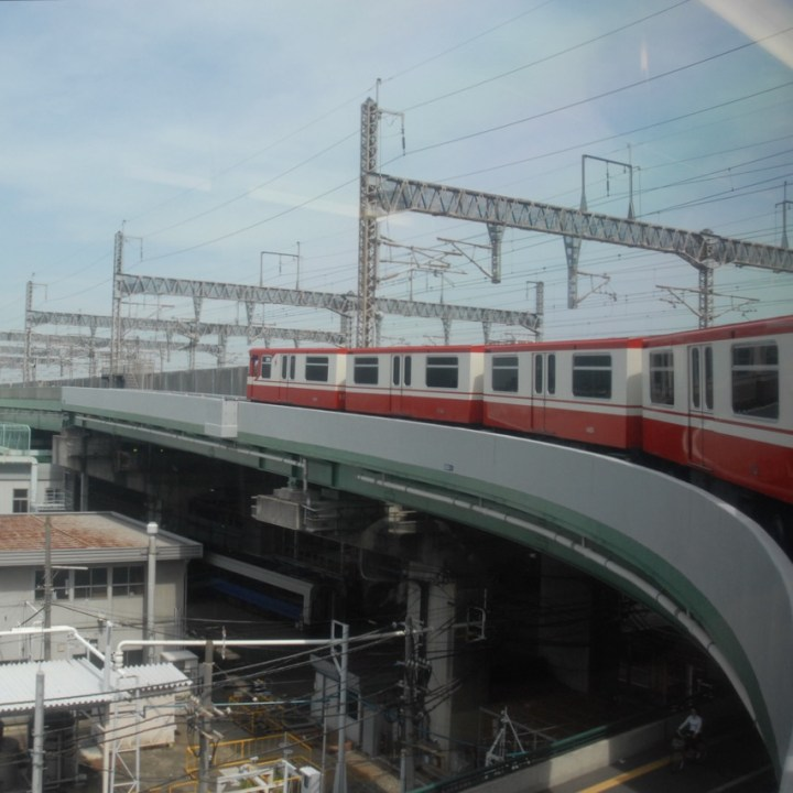tokyo train museum with kids shinkansen train