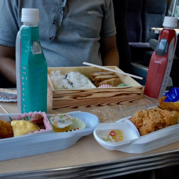 tokyo train museum with kids shinkansen bento box