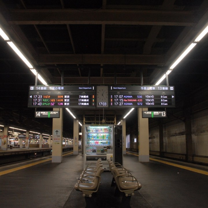 tokyo train museum with kids shinkansen display