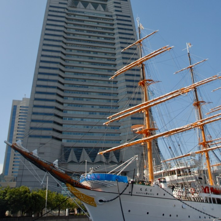 yokohama with kids nippon maru sail boat