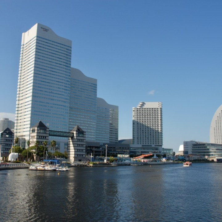 yokohama with kids skyline
