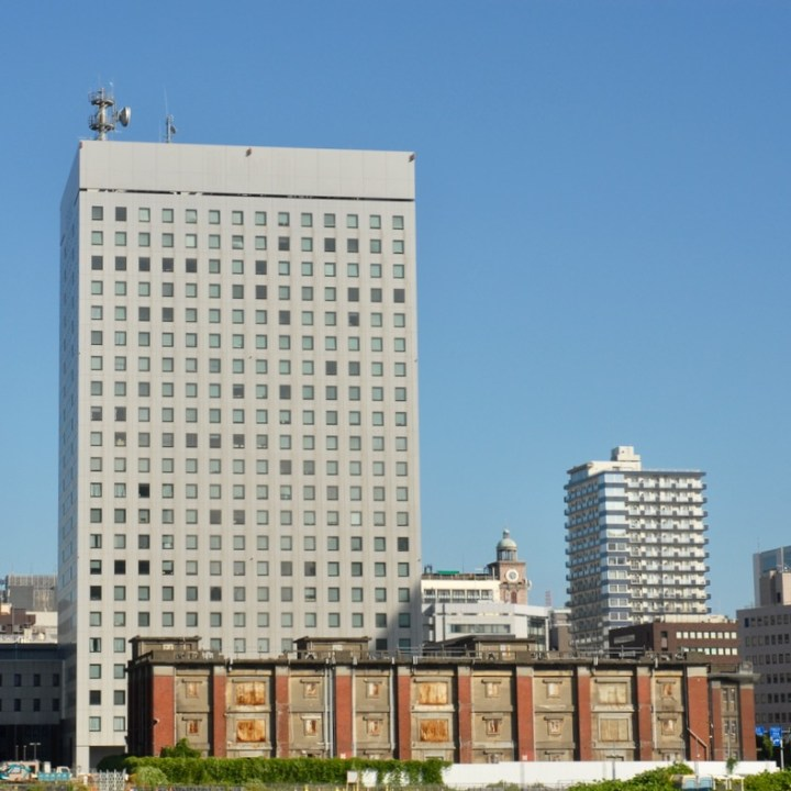 yokohama with kids office block