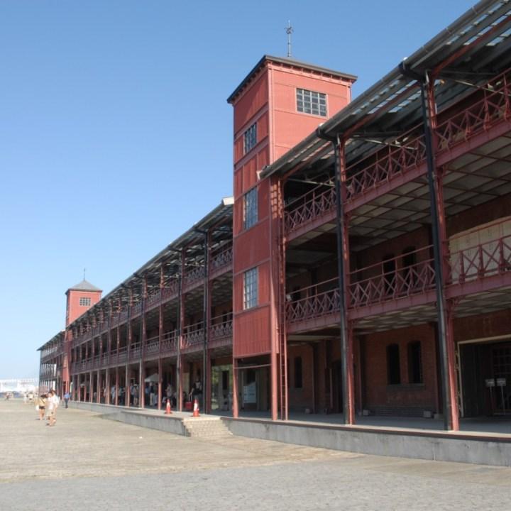 yokohama with kids brick warehouses