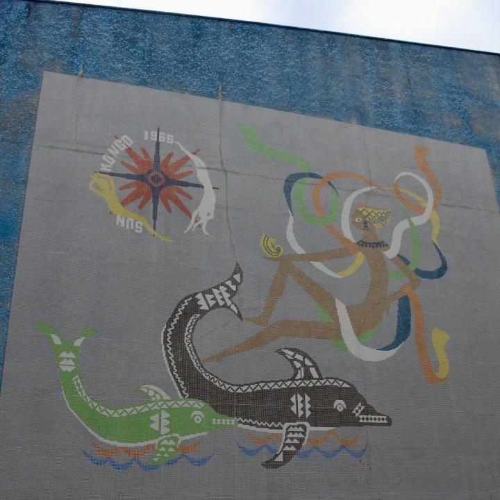 heda japan with kids izu peninsular mihama misaki mural