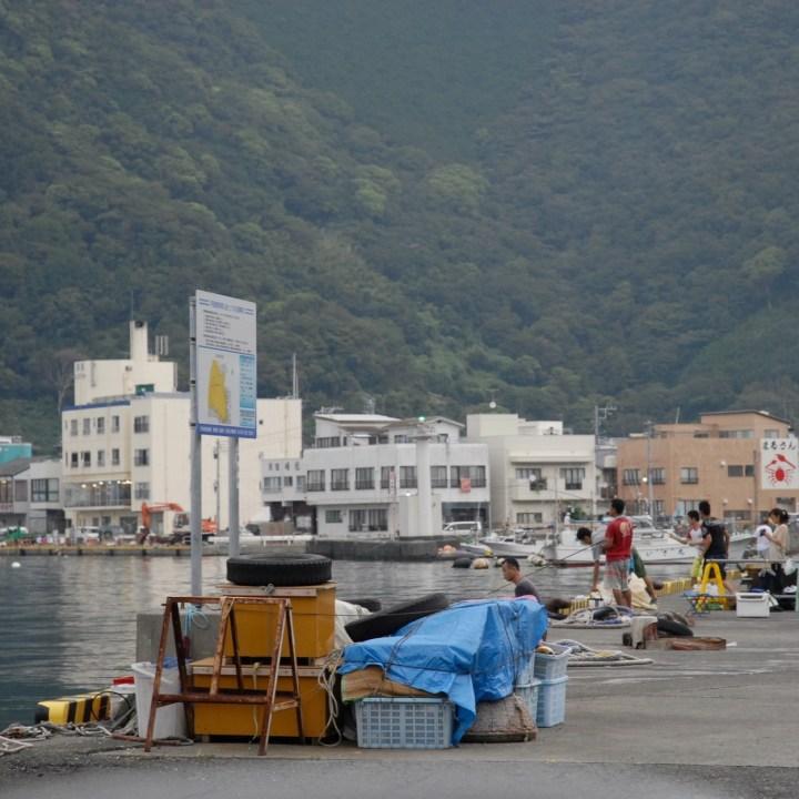 heda japan with kids izu peninsular mihama misaki fishermen