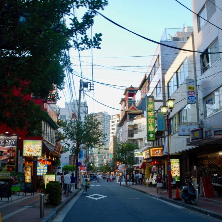 yokohama with kids china town restaurants