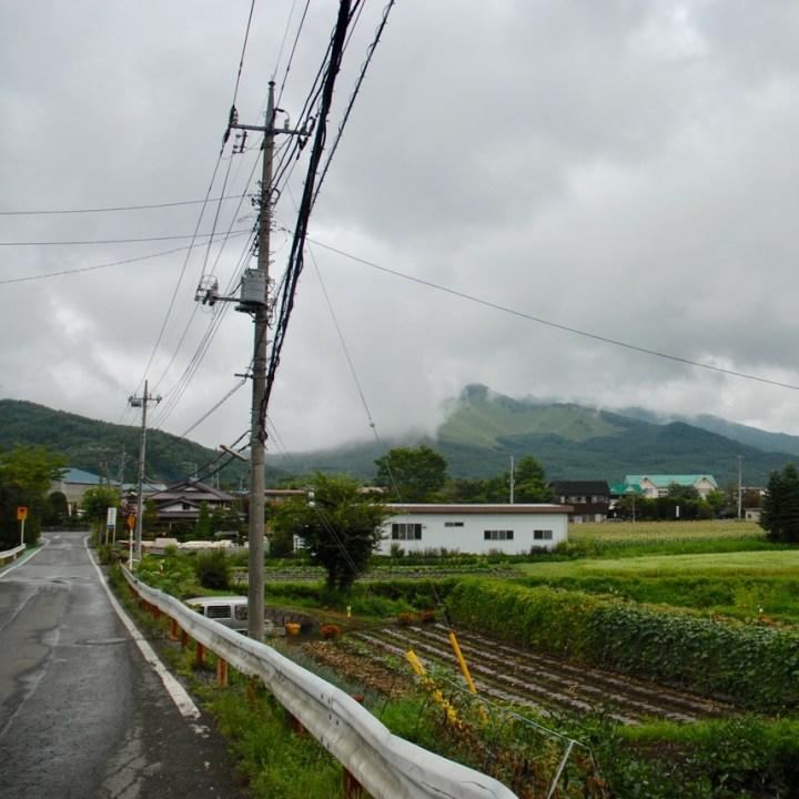 travel with kids japan fujiyoshida hiking misty mountain