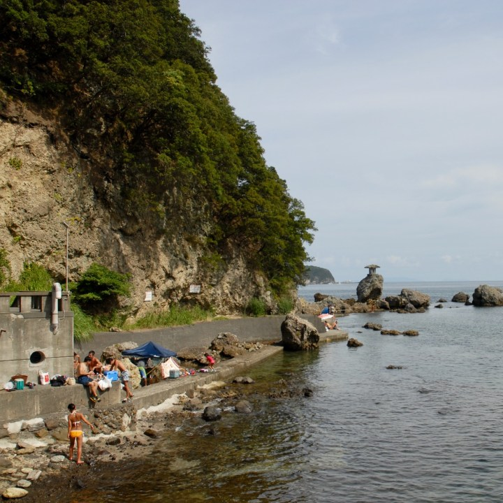 shimoda with kids izu peninsular nabetahama