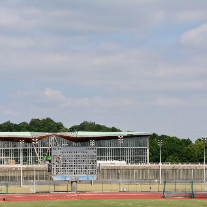 crystal palace park with kids stadium
