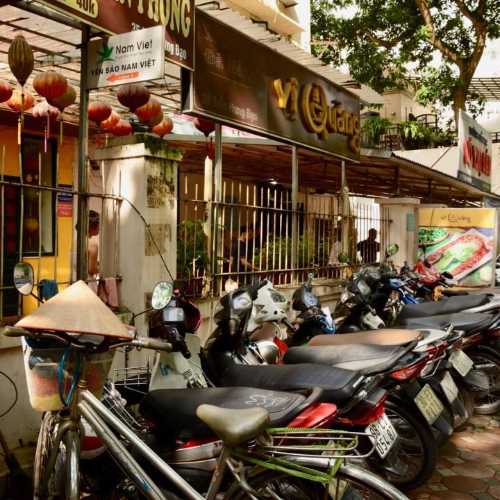 travel with kids vietnam hanoi motorbikes