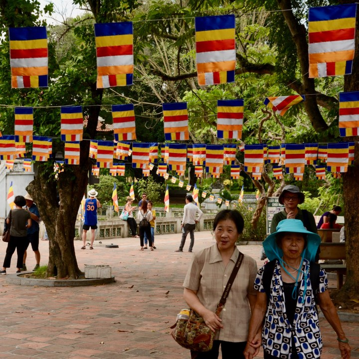 travel with kids vietnam hanoi ho chi minh stilted pagoda