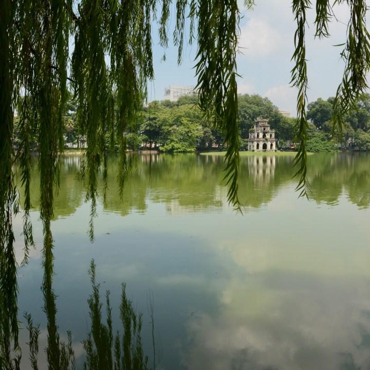 Hanoi, Vietnam| Visiting the Scenic Hoan Kiem Lake and Picturesque Ngoc Son Temple