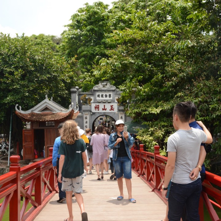 travel with kids vietnam hoi an red bridge