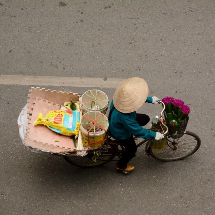 travel with kids vietnam hoi an flower basket