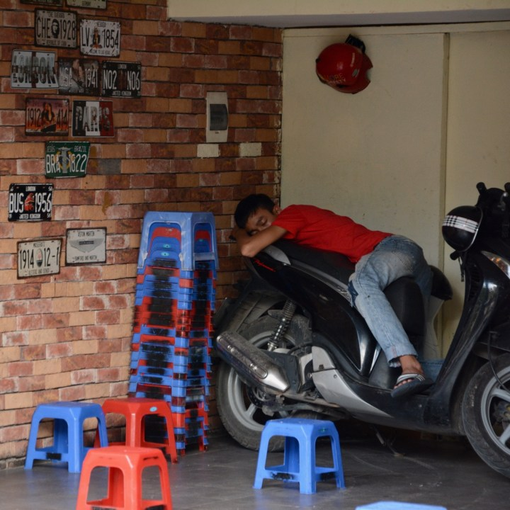 travel with kids vietnam hoi an afternoon nap