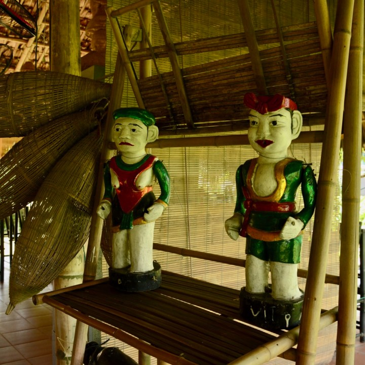 vietnam with kids ha long bay water puppet
