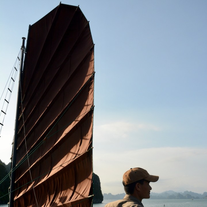 vietnam with kids ha long bay sail