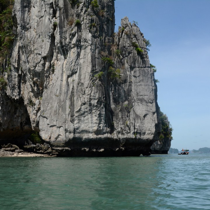 vietnam with kids ha long bay limestone karst