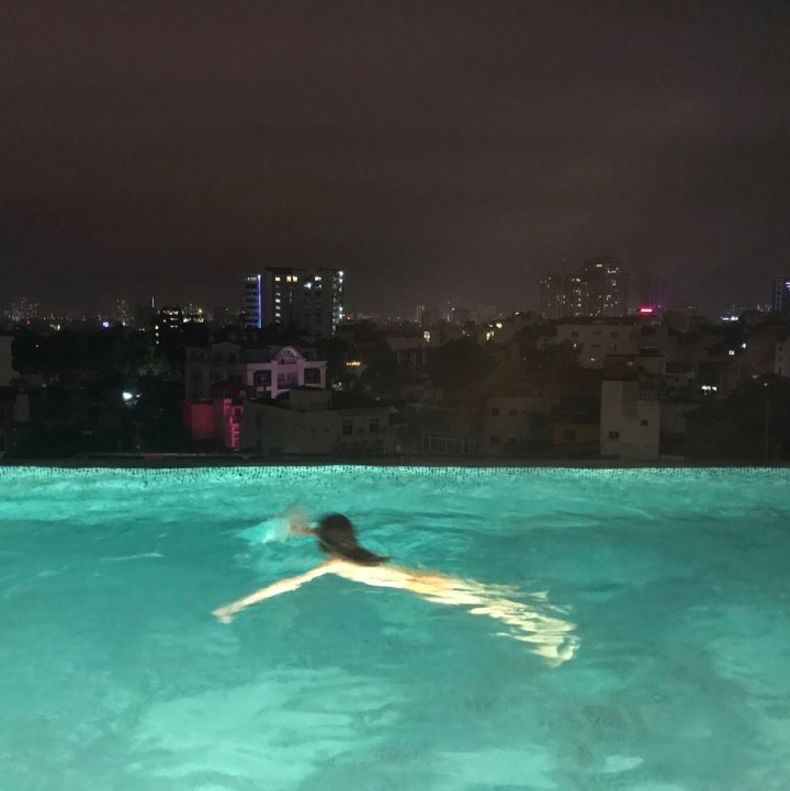 travel with kids vietnam hotel lapis hanoi rooftop pool