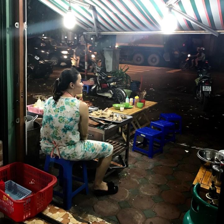 travel with kids vietnam hanoi restaurant