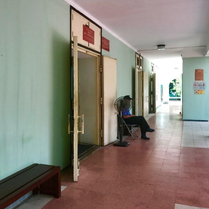 travel with kids vietnam hanoi citadel guard