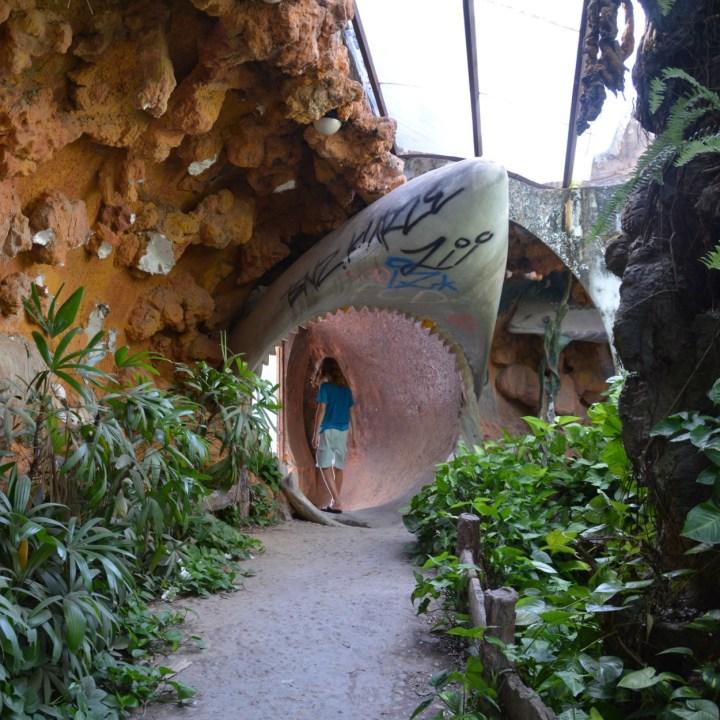 vietnam with kids hue abandoned waterpark shark