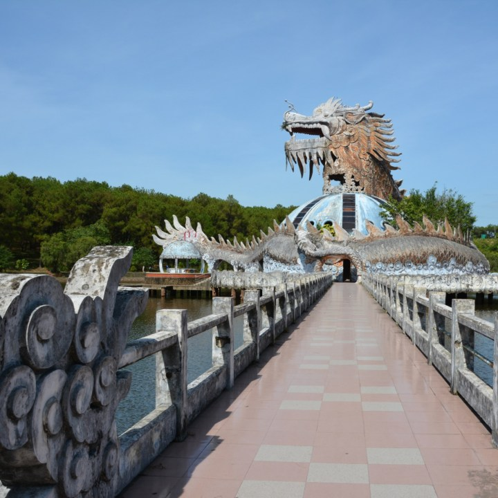 Hue, Vietnam | Visiting the Abandoned Waterpark, Ho Thuy Tien