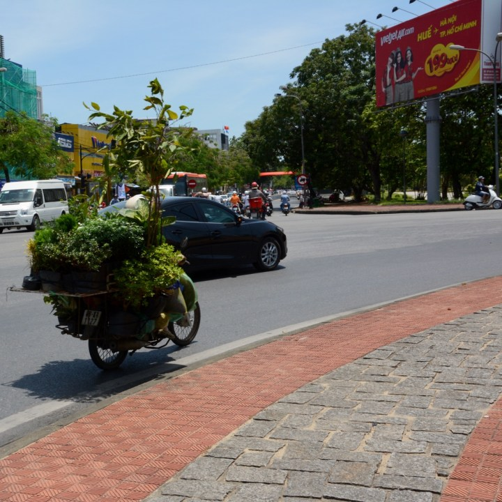 vietnam with kids hue motorbikes